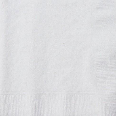 50ct White Cocktail Beverage Napkin - image 1 of 1