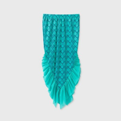 Girls' Mermaid Tail Cover Up - Cat & Jack™ Turquoise