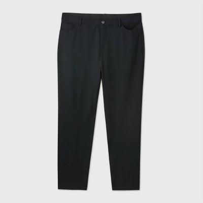 Women's Plus Size High-Rise Ankle Length 5-Pocket Ponte Pants - Ava & Viv™