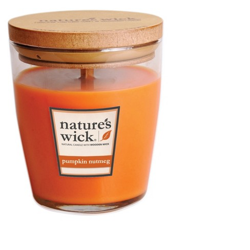 Jar Candle - Pumpkin Nutmeg - 10oz - Nature's Wick - image 1 of 1