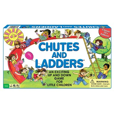 Winning Moves Classic Chutes and Ladders Game