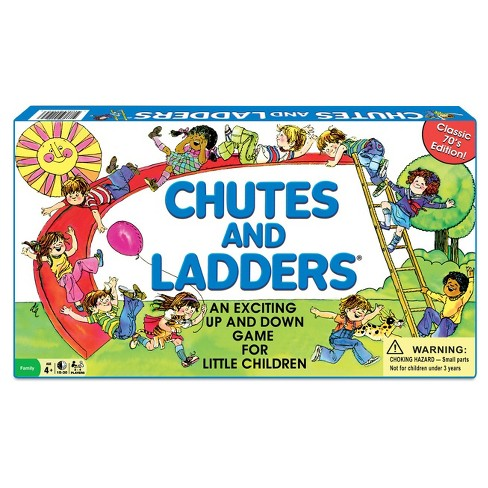 winning moves classic chutes and ladders game target