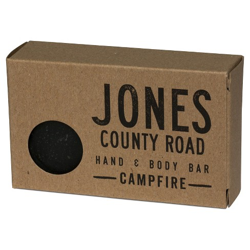 Jones County Road Hand & Body Bar Campfire - 4 oz - image 1 of 2