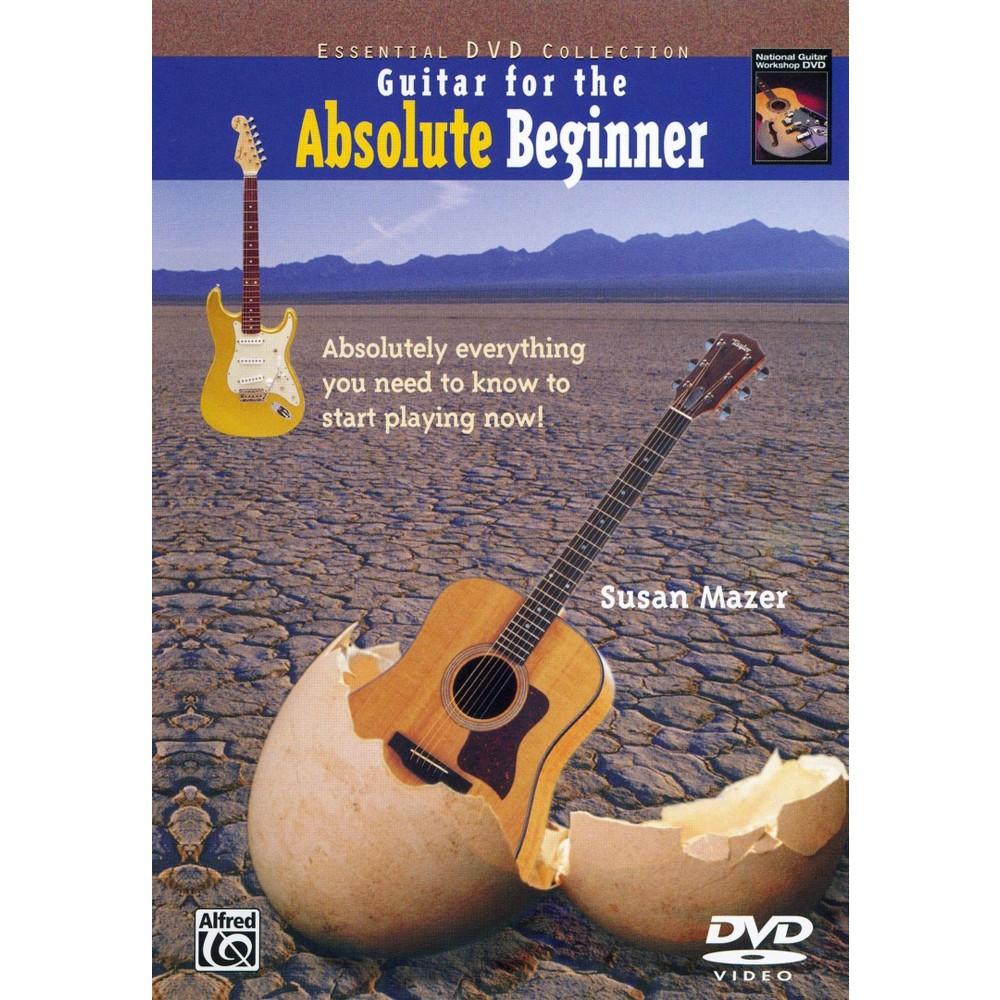 Guitar For The Absolute Beginner Book (Dvd)
