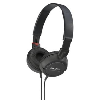 Sony Outdoor Wired Headphones - Black (MDR-ZX110)