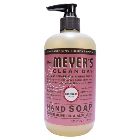 Mrs. Meyer's Clean Day Rosemary Scent Liquid Hand Soap - 12.5oz - image 1 of 4