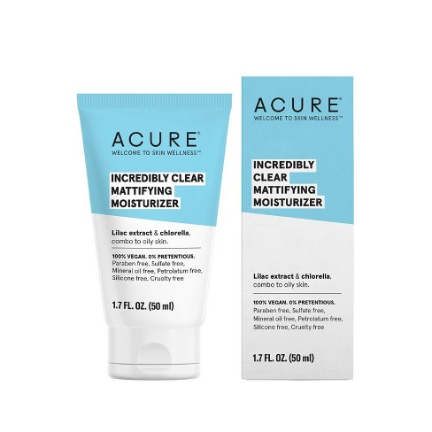 Acure Incredibly Clear Mattifying Moisturizer - 1.7 fl oz - image 1 of 4