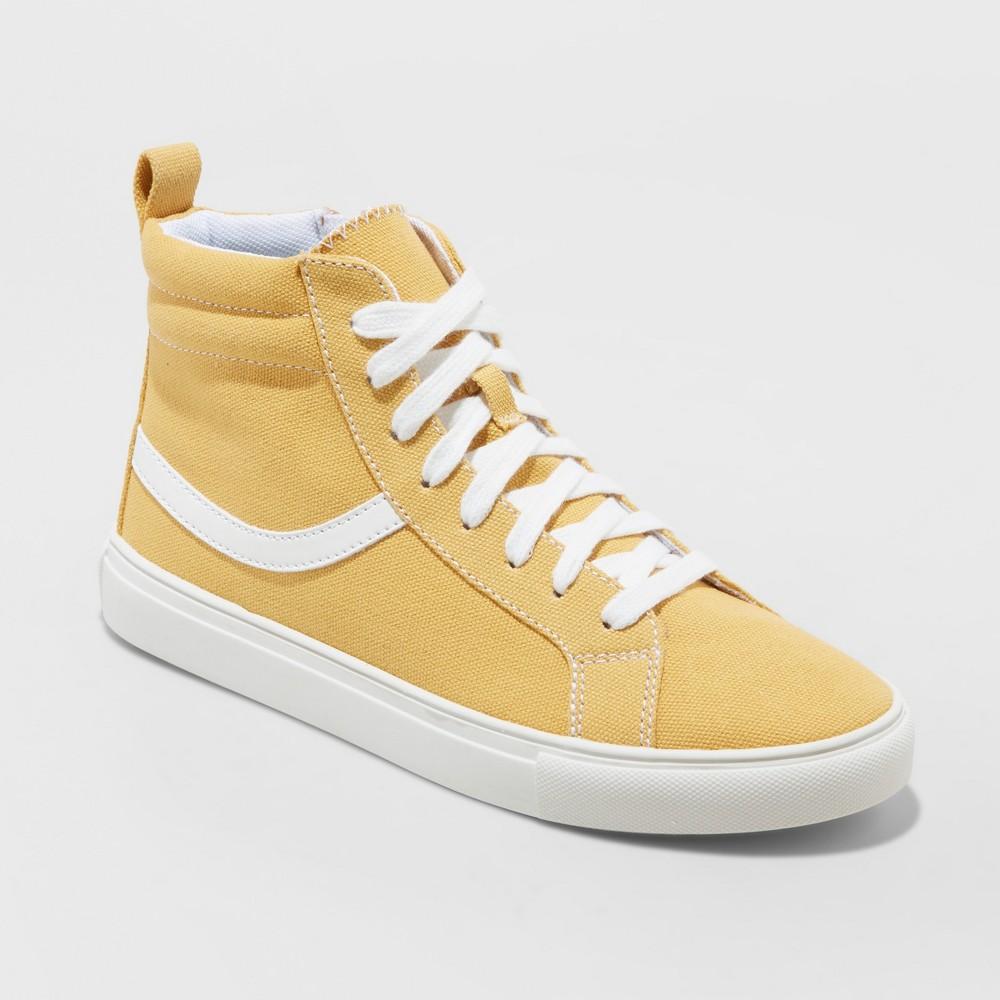 Women's Carissa Wide Width Sneakers - Wild Fable Yellow 9W, Size: 9 Wide