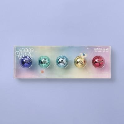 Disco Ball Lip Balm Gift Set - 5pc/0.8oz - More Than Magic™