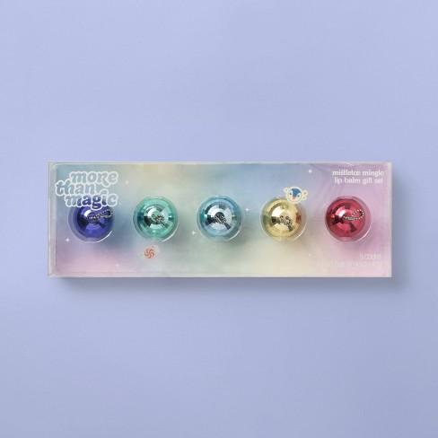 Disco Ball Lip Balm Gift Set - 5pc/0.8oz - More Than Magic™ - image 1 of 2