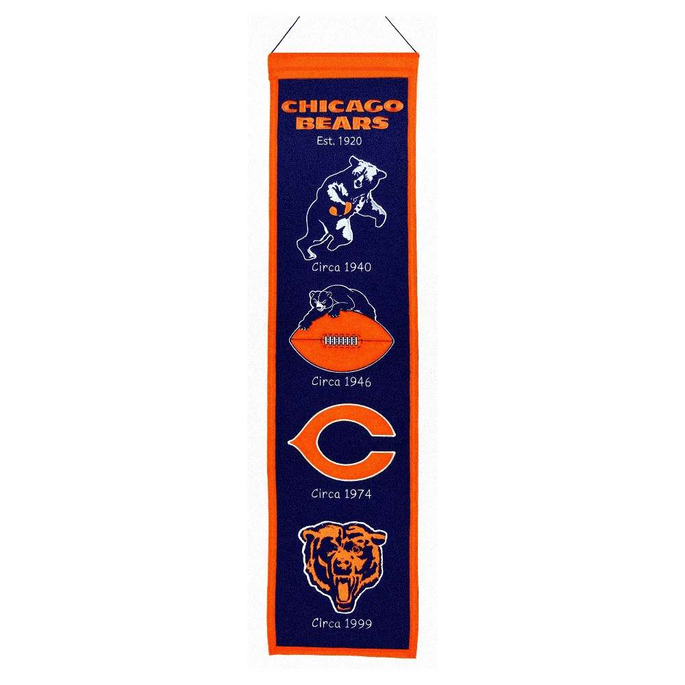 Chicago Bears Winning Streak Heritage Banner
