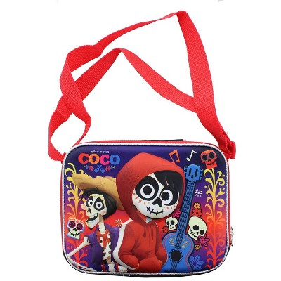 Accessory Innovations Company Disney Pixar COCO Lunch Tote With Long Strap