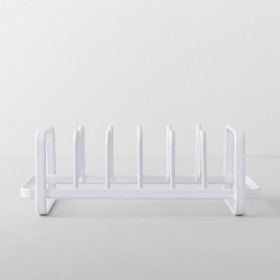 Kitchen Cabinet Lid Organizer White - - - - - - - - - - - Made By Design™