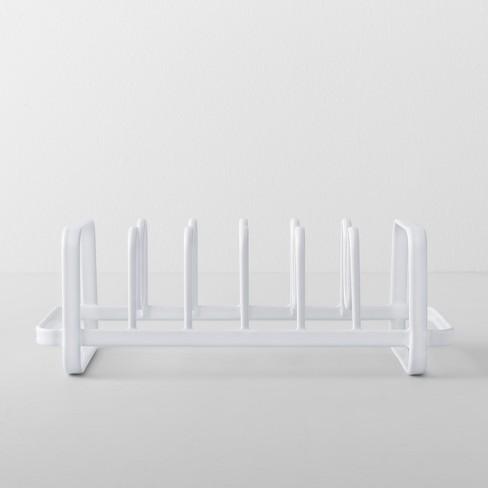 Kitchen Cabinet Lid Organizer White Made By Design