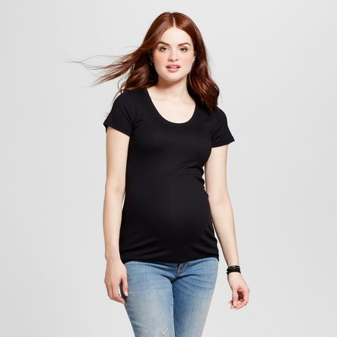 1b34f749167 Maternity Almond-Neck T-Shirt - Isabel Maternity By Ingrid & Isabel ...