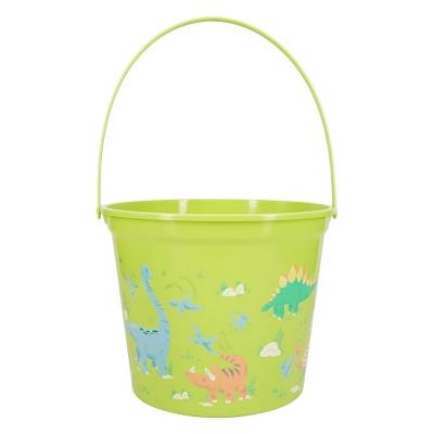 Plastic Jumbo Easter Bucket Printed Dino - Spritz™