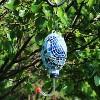 "Sunnydaze Decor Bluebird Mosaic Glass Bird Feeder - Blue - 6"" - image 2 of 4"