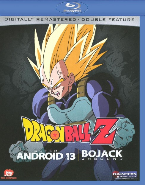 Dragon ball z:Android assault/Bojack (Blu-ray) - image 1 of 1