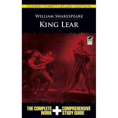 King Lear - (Dover Thrift Study Edition) by  William Shakespeare (Paperback) - image 1 of 1