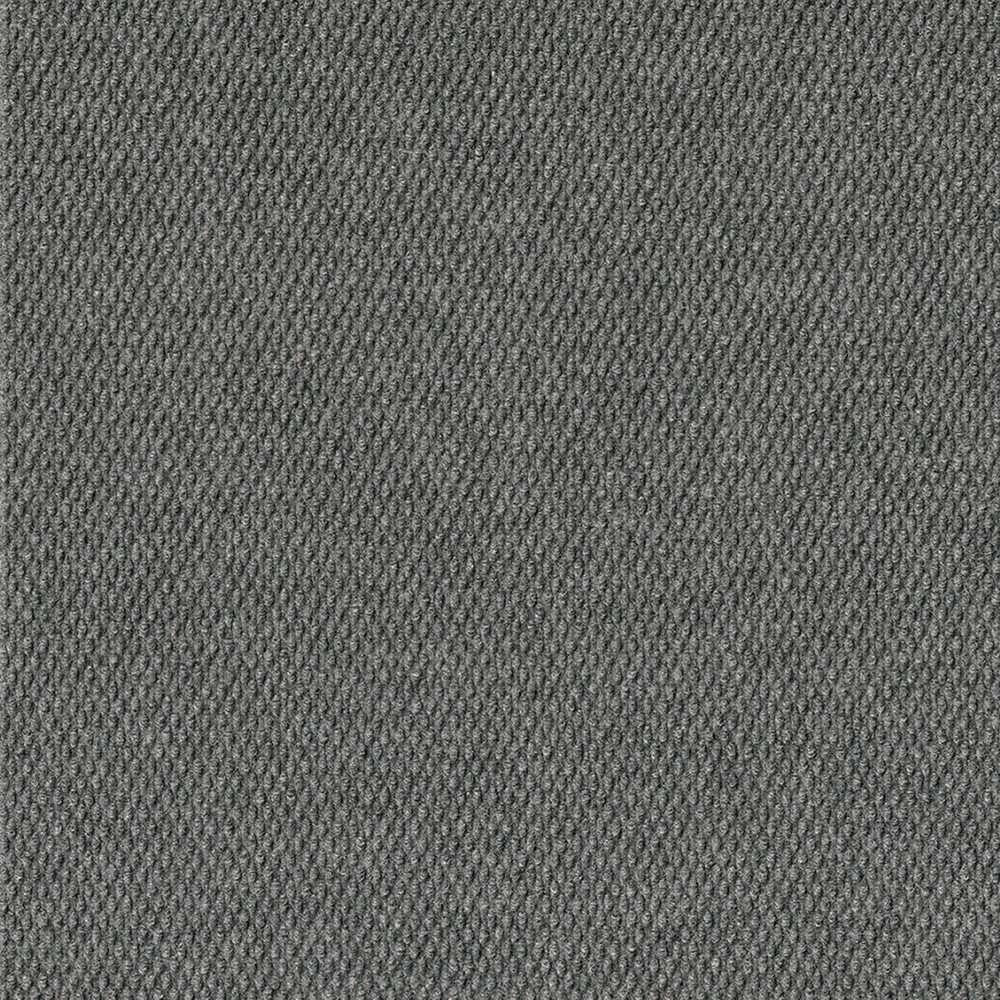 16pk Hobnail Carpet Tiles Gray
