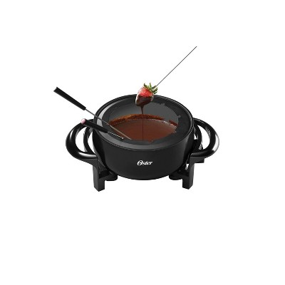 Oster DiamondForce 3qt Nonstick Fondue Pot - Black
