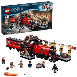LEGO Harry Potter Hogwarts Express Train Set with Harry Potter Minifigures and Toy Bridge 75955