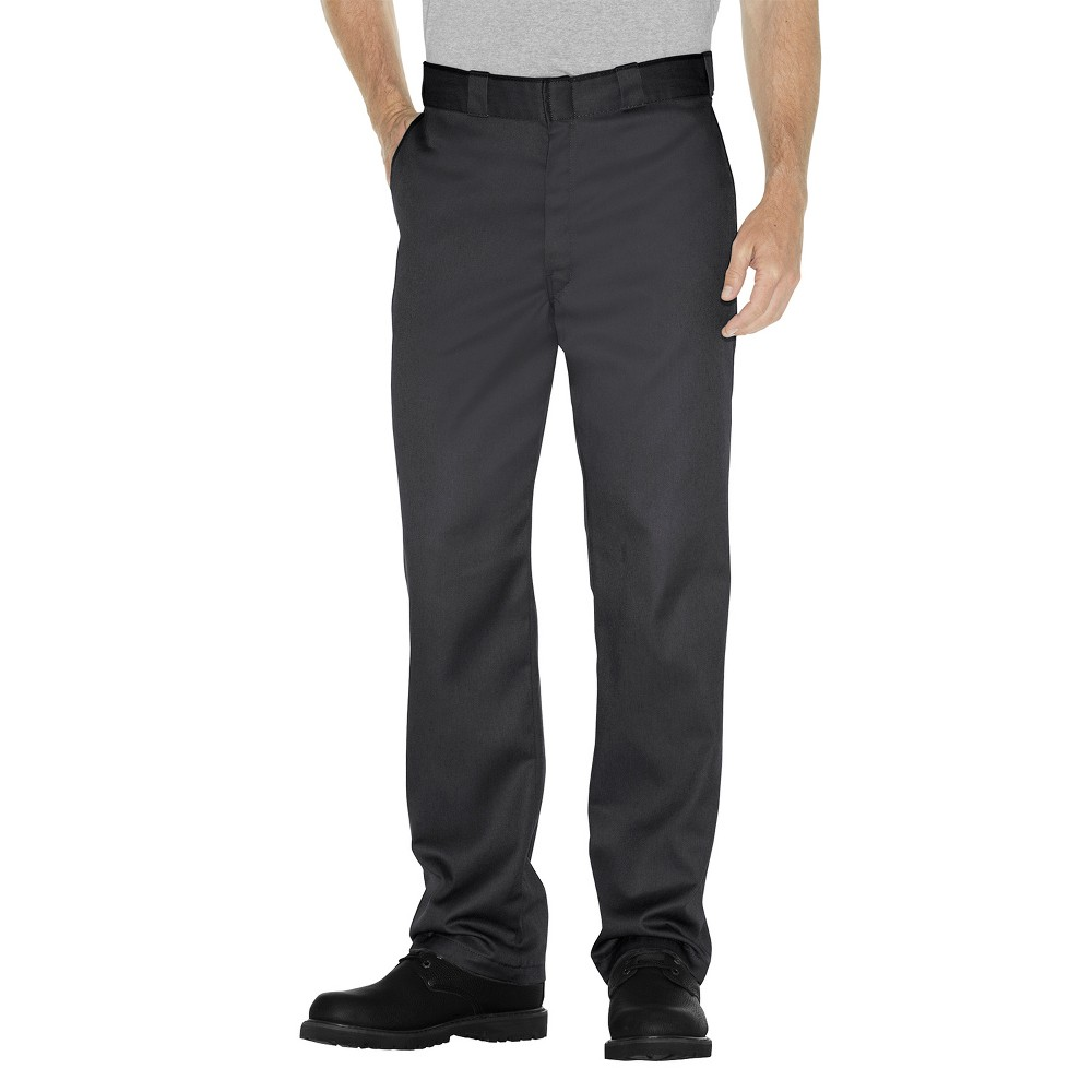 Dickies Men's 874 Flex Straight Fit Work Pants - Black 34x34