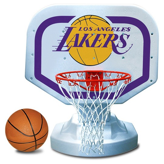 Poolmaster NBA Poolside Basketball Game - Los Angeles Lakers image number null