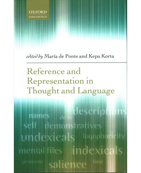 Reference and Representation in Thought and Language -  (Hardcover) - image 1 of 1