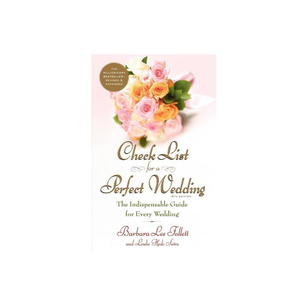 Check List for a Perfect Wedding, 6th Edition - 6 Edition (Paperback)