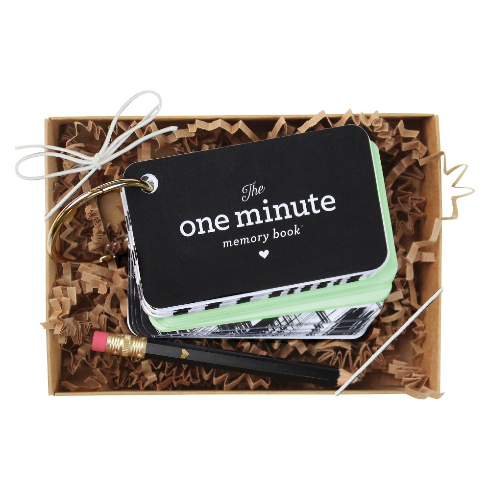 Image of 'The One Minute Memory Book' For Baby Mint (Green)