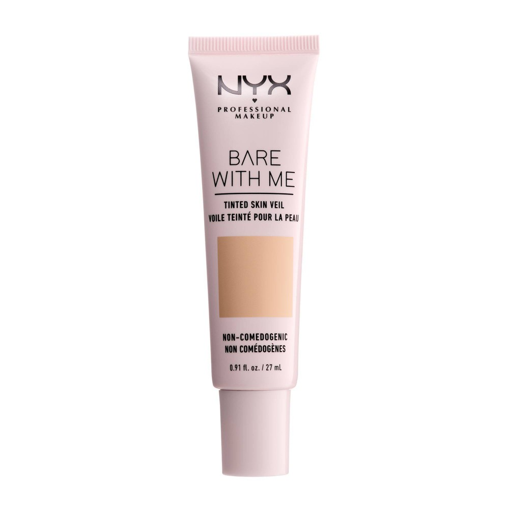 Nyx Professional Makeup Bare With Me Tinted Skin Veil 03 Neutral Soft Beige 0 9 Fl Oz
