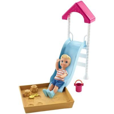 Barbie Skipper Babysitters Inc. Friend Doll and Playground Playset