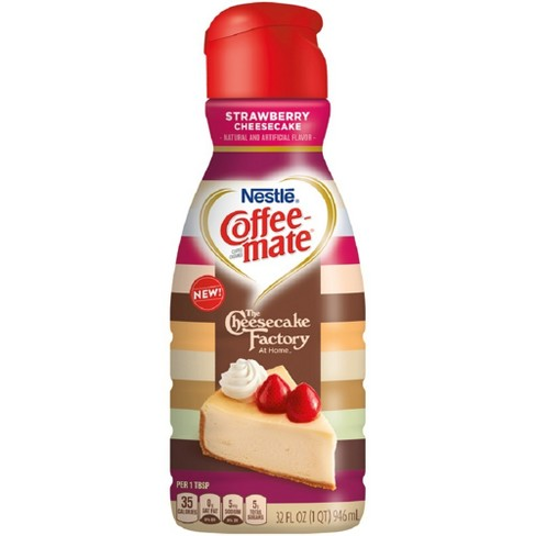 Coffee Mate Strawberry Cheesecake Coffee Creamer - 32 fl oz - image 1 of 1