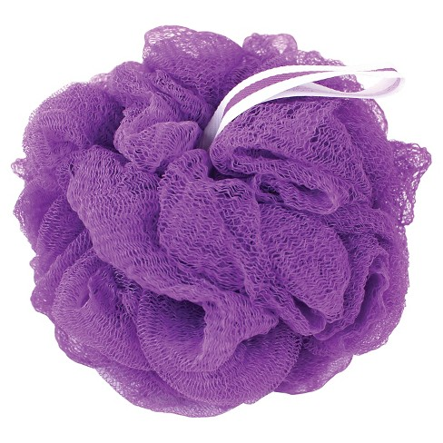 The Bathery Exfoliating Bath Sponge - Purple - image 1 of 1