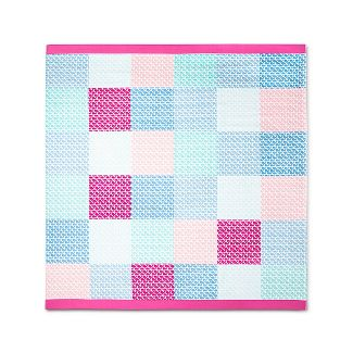 Patchwork Whale Beach Towel for Two - Pink/Blue - vineyard vines® for Target