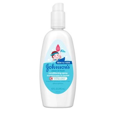 Johnson's Clean And Fresh Conditioning Spray - 10 fl oz