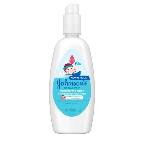 Johnson's Clean And Fresh Conditioning Spray - 10 fl oz - image 1 of 4