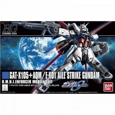 Bandai Hobby Bandai Hobby HGCE Aile Strike Gundam HG 1/144 Scale Model Kit