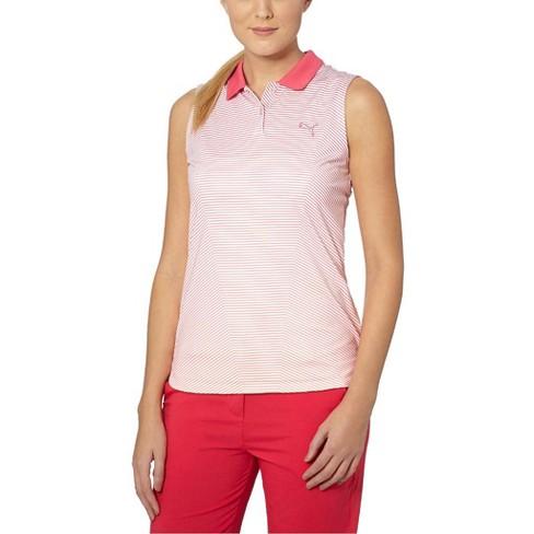 2d9fa510 Women's Puma 3D Stripe Sleeveless Polo : Target