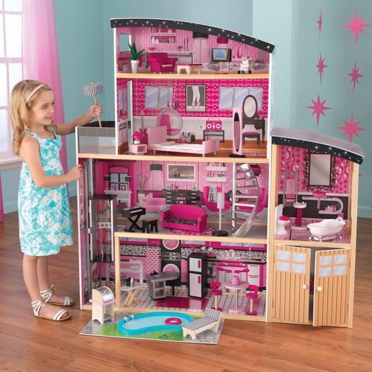 KidKraft Sparkle Dollhouse image number null