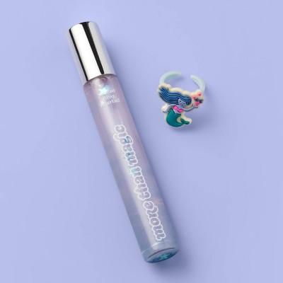 Scented Glitter Rollerball Lemonade Berry Bliss - 0.34 fl oz - More Than Magic™