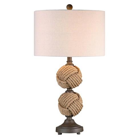 Astonishing Uttermost Higgins Spheres Table Lamp Rope Lamp Only Home Interior And Landscaping Mentranervesignezvosmurscom