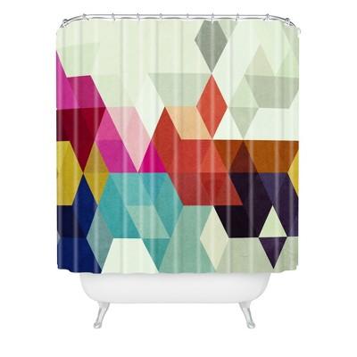 Modele 7 Shower Curtain - Deny Designs