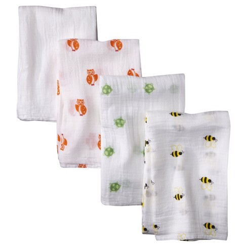 Aden® by Aden + Anais® Swaddle - 4pk - Life's a Hoot - image 1 of 1