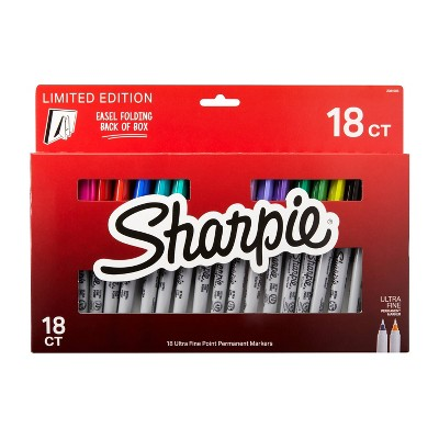 Sharpie UltraFine 18ct Permanent Markers