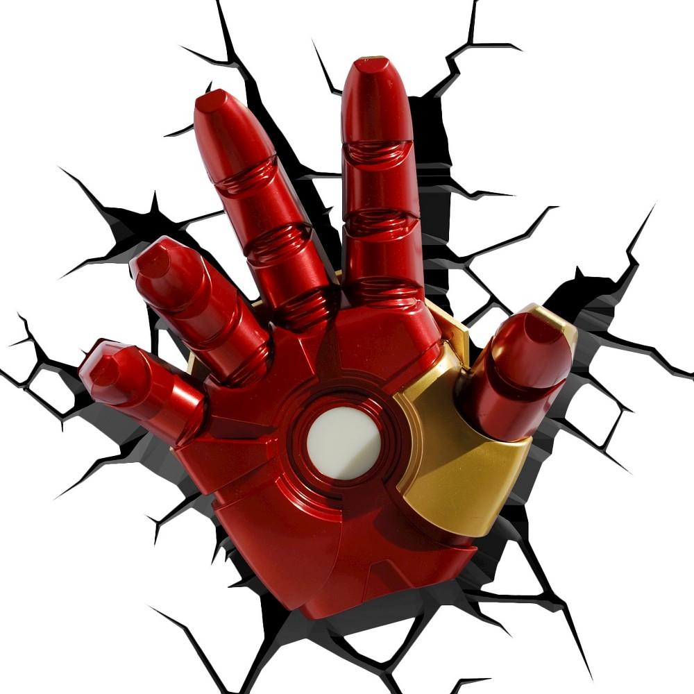 Image of Marvel 3D Wall Night Led Light - Iron Man Hand