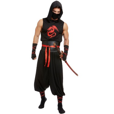 Dreamgirl Dark Ninja Adult Costume
