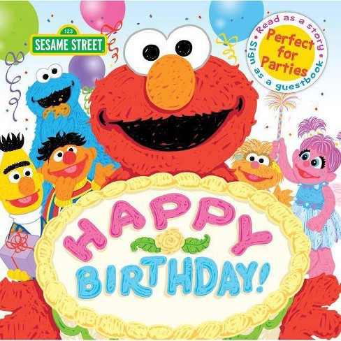 Happy Birthday! -  (Sesame Street Scribbles) (Hardcover) - image 1 of 1