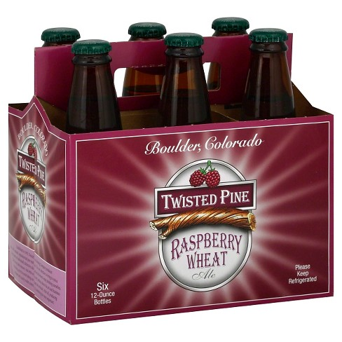 Twisted Pine® Raspberry Wheat Ale - 6pk / 12oz Bottles - image 1 of 1